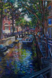 colors of the new year - solo show - a bit of Amsterdam